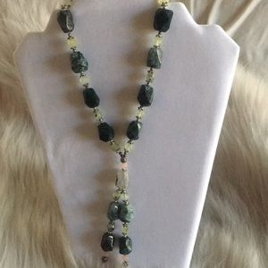 Jewelry - Hand made real stone necklace